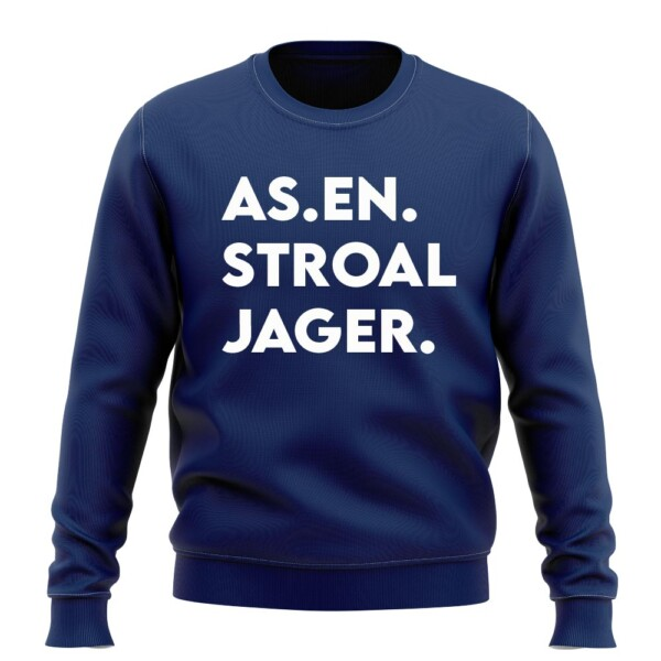 AS.EN.STROAL JAGER. SWEATER