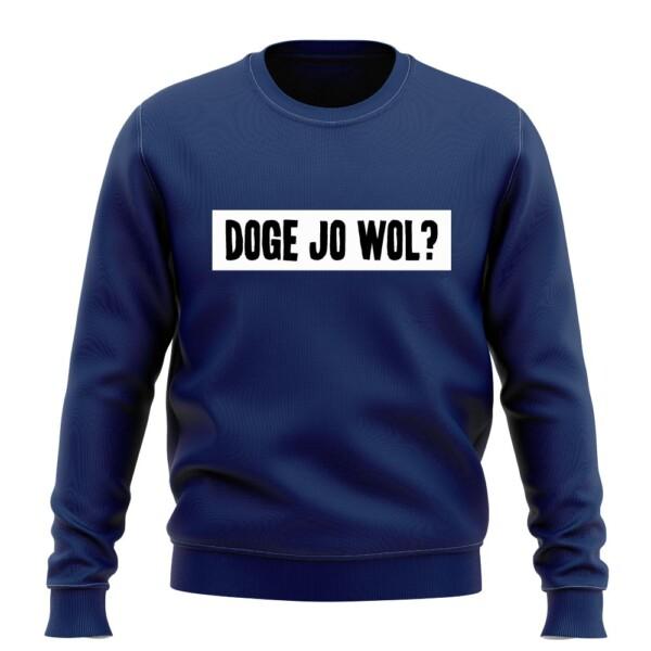 DOGE JO WOL SWEATER