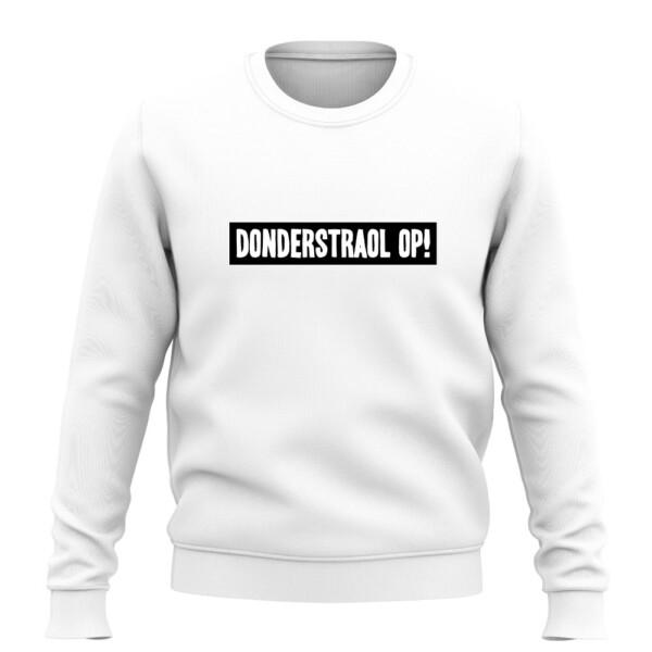 DONDERSTRAOL OP SWEATER