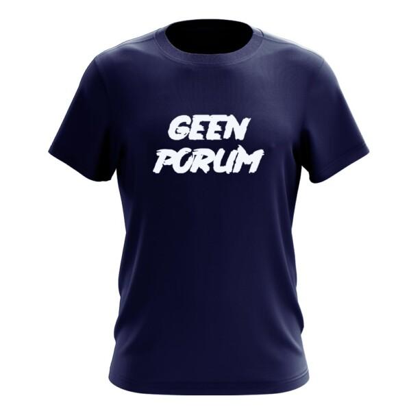 GEEN PORUM T-SHIRT