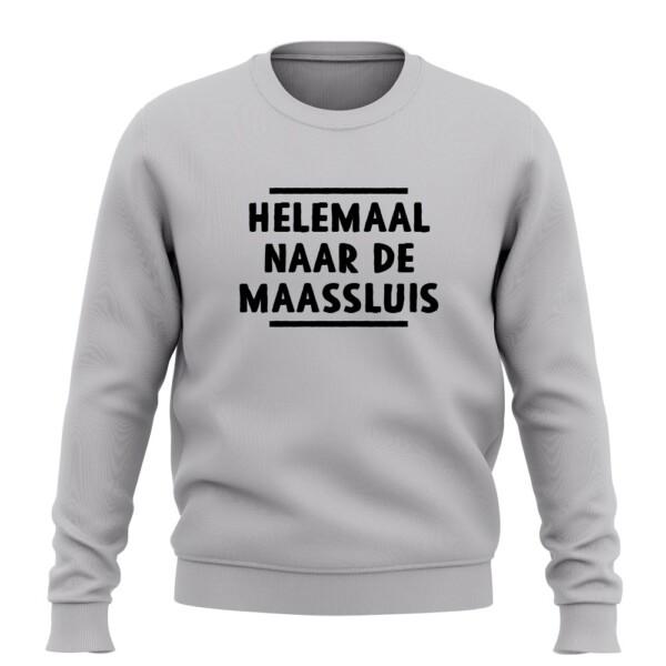HELEMAAL NAAR DE MAASSLUIS SWEATER