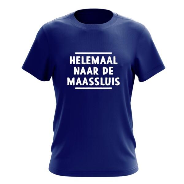 HELEMAAL NAAR DE MAASSLUIS T-SHIRT